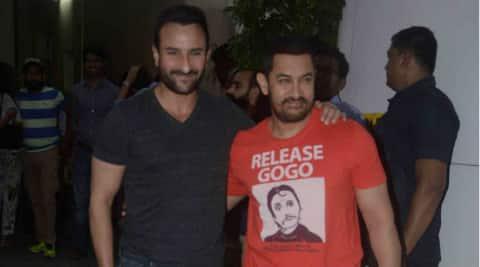 Aamir Khan, Saif Ali Khan