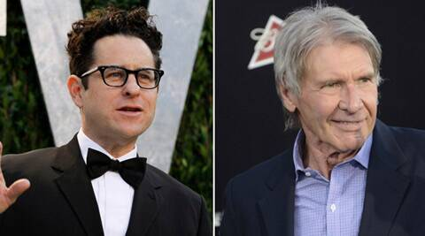 J J Abrams broke his back helping injured Harrison Ford