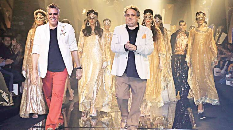 Bling It On Abu Jani And Sandeep Khosla Open Lakme Fashion Week Winter Festive 2015 Lifestyle News The Indian Express