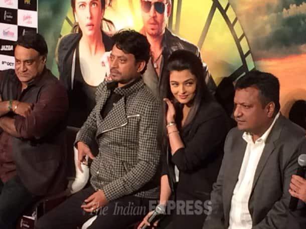 Aishwarya Rai Bachchan, Irrfan Khan
