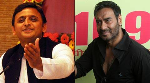 'Drishyam' actor Ajay Devgn meets Akhilesh Yadav, lauds UP's film policy