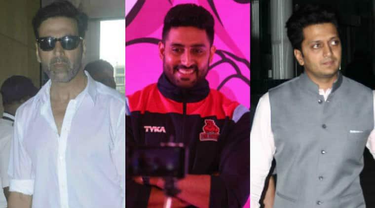 Akshay Kumar, ABhishek Bachchan, Riteish Deshmukh