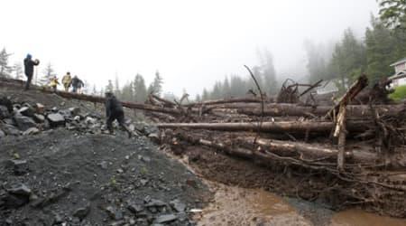 Alaska landslide: 4 people missing after several landslides inSitika