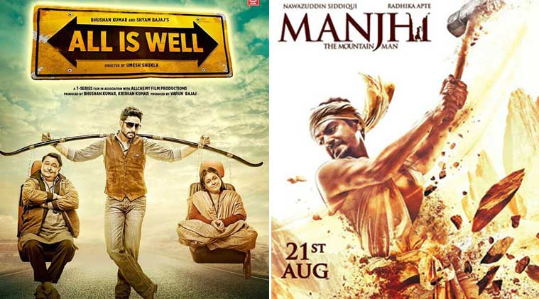 manjhi, manjhi movie, manjhi movie collections, nawazuddin siddiqui, nawazuddin siddiqui manjhi, all is well movie, all is well collections, manjhi collections, manjhi review, all is well review, abhishek bachchan, abhishek bachchan all is well, rishi kapoor, asin, asin marriage, asin all is well, radhika apte, radhika apte manjhi