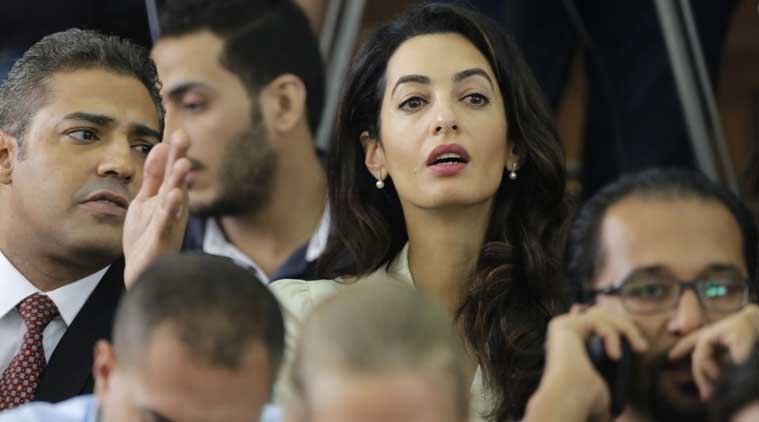 For news agency AP, one tweet on Amal Clooney started a