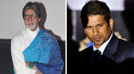 amitabh bachhan, sachin tendulkar, save the tiger, tiger, india tiger campaign, Mumbai news, india news, indian express