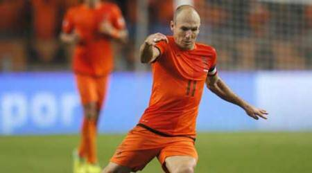 Arjen Robben set to replace Robin Van Persie as Netherlands captain