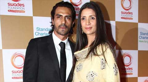 Don't have any views: Arjun Rampal on divorce rumours