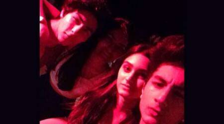 When Shah Rukh Khan and Saif Ali Khan's sons Aryan, Ibrahim hung out together