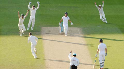 Australia push for win in fifth Ashes Test after enforcing follow-on against England