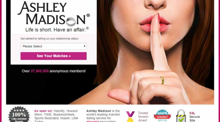 ashley madison hackers dump stolen data