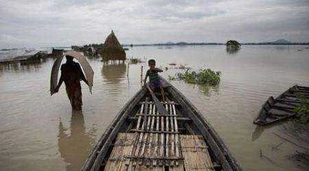 Four die as Assam floods affect 10 lakh people in 19 districts
