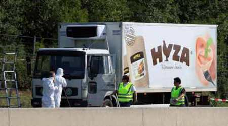austria, austria migrants, austria migrants death, austria truck accident, european migrant crisis, europe news, world news, latest news
