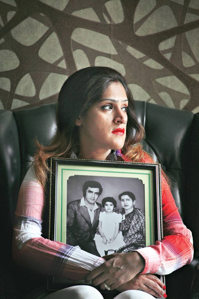 After two decades of inner turmoil, Avantika finally found peace after she forgave her parents' assassin (Source: Express photo by Oinam Anand)