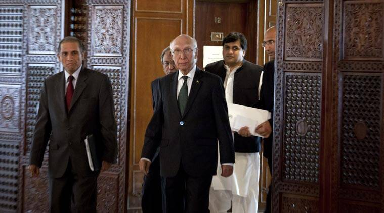Pakistan, India, Sartaj Aziz, NSA talks, NSA-level talks, India Pakistan talks, Sushma Swaraj, Ajit Doval, India news, latest news, top stories