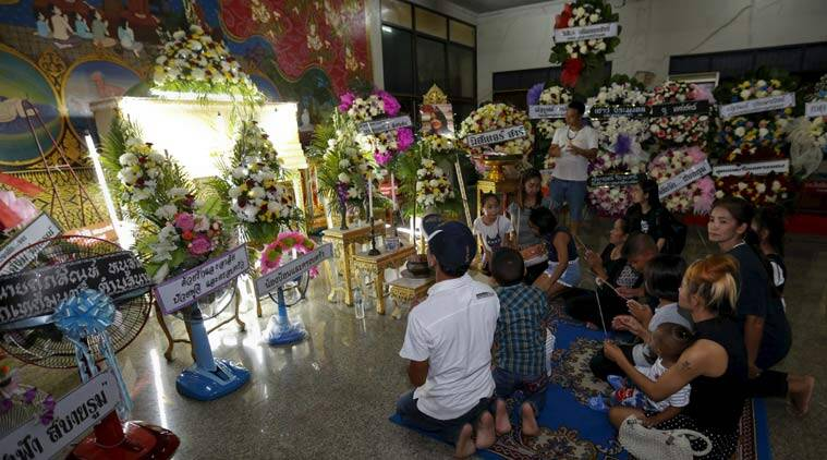 bangkok bombing, thailand bombing, bangkok explosion, bangkok explosion victims, bangkok blast victiims, bangkok blast victims last rites, Erawan shrine, Erawan shrine budhha, thailand news, world news, asia news, international news, latest news
