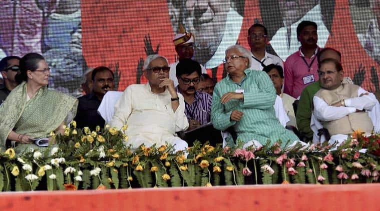 bihar polls, Bihar election, Bihar grand alliance, Rahul Gandhi, Jitan Ram Manjhi, Nitish Kumar, Lalu Prasad Yadav, bihar politics, bihar news, india news