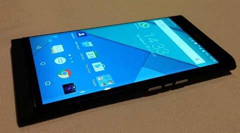 Blackberry's Android phone leaked in full glory: Keyboard slider shown