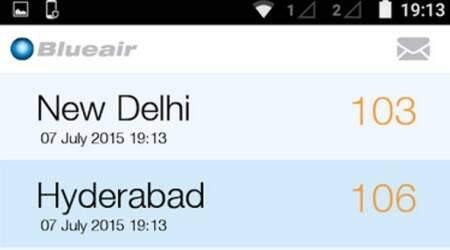 Now monitor air pollution every time you breathe with Blueair's new Androidapp