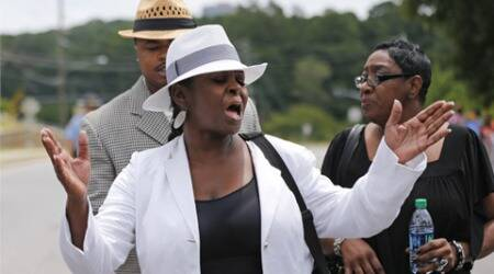 Family feud in evidence at Bobbi Kristina funeral