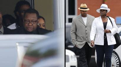 Bobby Brown, family mourn the late Bobbi Kristina at funeral
