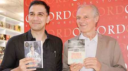 Pierre Bordage, indian readership, Frenchman Oliver Lafont, science fiction writer, Saam, Talk