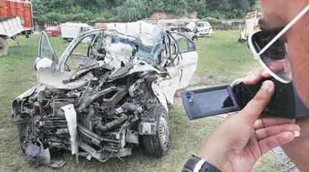 War veteran's son killed in accident inPanchkula