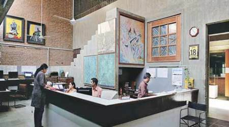For new CEPT library, architect has designs on Mughal-erapool