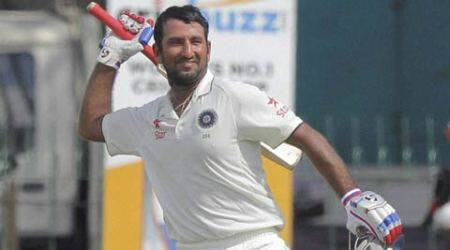 Pujara ton leads India comeback against Sri Lanka