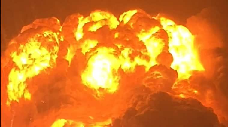 China fire, China chemical fire, china toxic fire, china news, world news