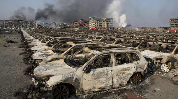 tianjin, china, tianjin blast, tianjin port blast, china blast, china port blast, tianjin explosion, tianjin fire, china explosion, china port explosion,, explosion in china, tianjin news, china news, asia news, world news, indian express
