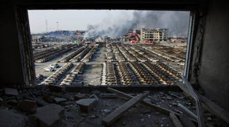Tianjin tragedy: China clearing blast site, military checking storage