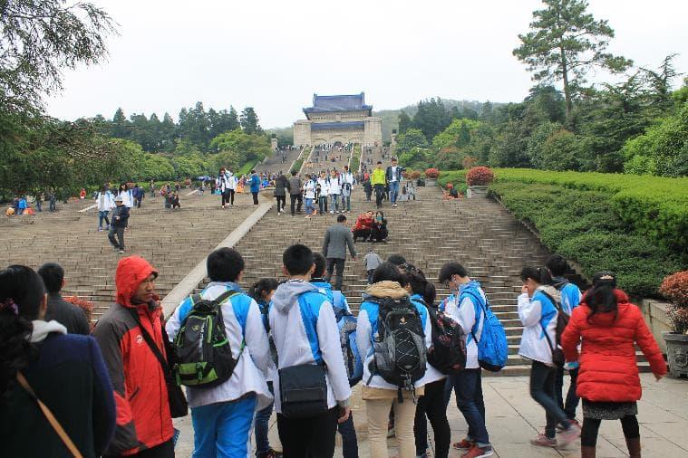 Sun yat-Sen Mausoleum, Nanjing