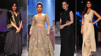 LFW 2015: Chitrangada Singh, Tamannaah dazzle on ramp; Dia and Shilpa off it