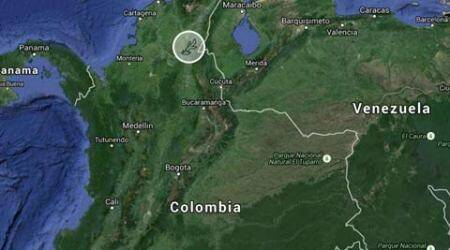 Colombian military plane crashes, killing all 11 on board