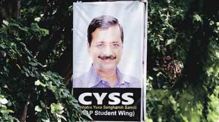 DUSU polls: AAP student wing announces list of candidates