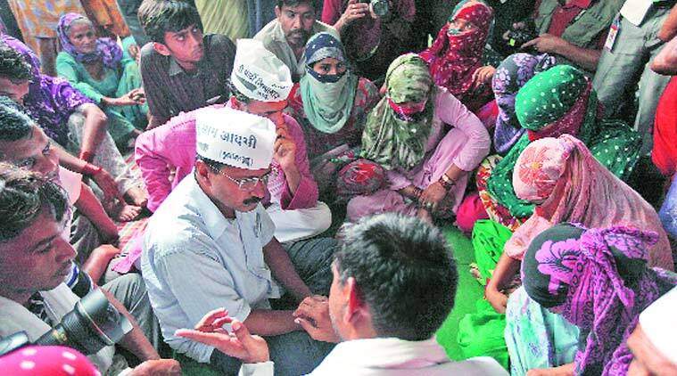 dalit families, dalit to islam, conversion, VHP protest, hinduism, delhi news, indian express