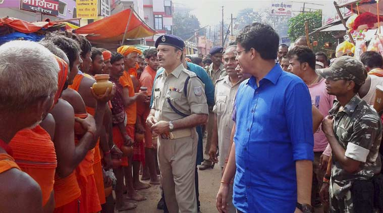 Deoghar India  City pictures : 11 killed in Deoghar temple stampede | The Indian Express
