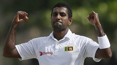 Dhammika Prasad is carrying Sri Lanka on his shoulders