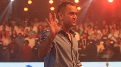 Dhoni graces Pro Kabaddi League 2015
