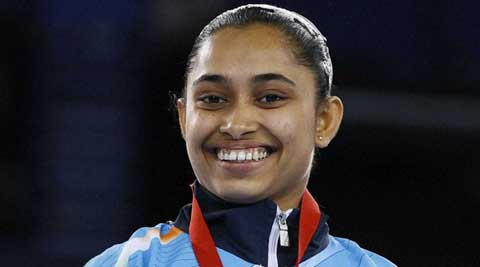 Dipa Karmakar primes for worlds with Asian Championship bronze