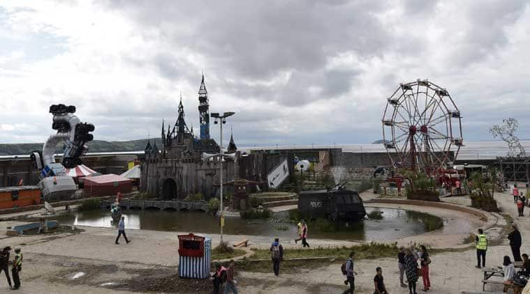 Dismaland by Banksy, Banksy Dismaland, Dismaland, Dismaland theme park, Banksy, Dismaland theme park by Banksy, Banksy's theme park, Social media