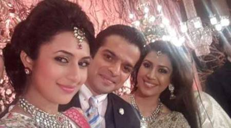 Divyanka denies co-actor Karan Patel's wife's presence while shooting intimate scene
