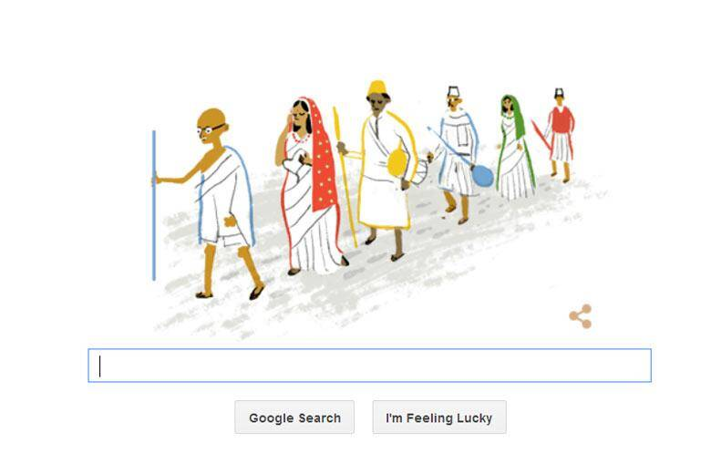 Google has dedicated the historic march with a doodle.