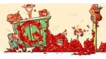 Google doodle celebrates 70 years of Spain's famed La Tomatina festival