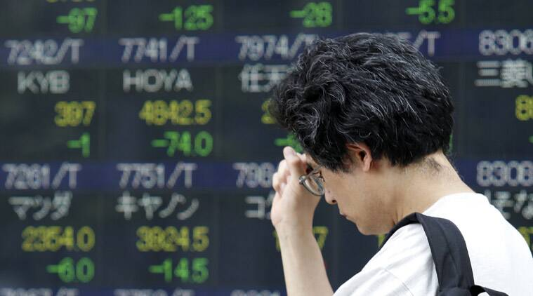Asian Stock, Stocks fall, global economy, Asian economy, US conflict, US politics, Business news, Indian Express Business news