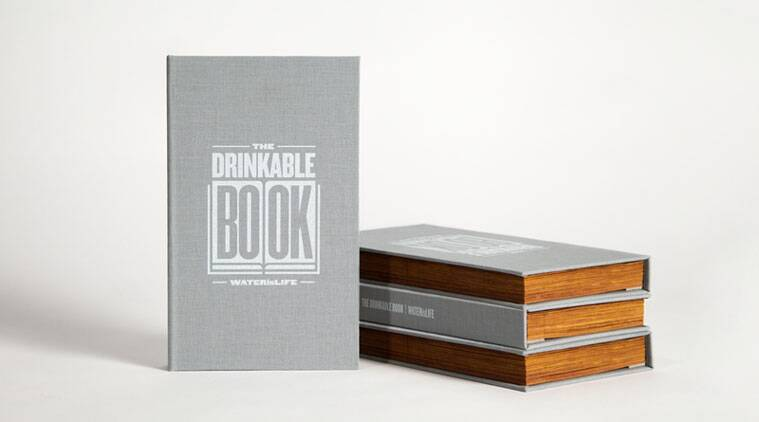 The Drinkable Book (Source: drinkablebook.tilt.com)