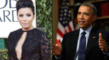 US Barack Obama, eva longoria, actress eva longoria, eva longoria obama, eva longoria barack obama, entertainment news