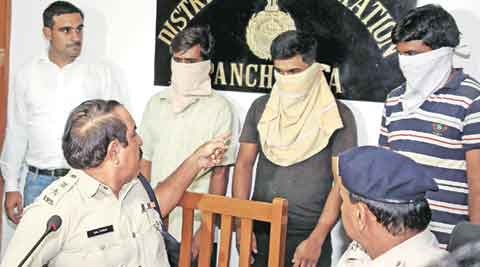 Extortion call, Satpal Singla, Extortionist arrested, Panchkula news