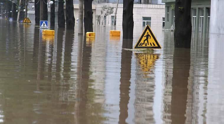 north korea, north korea flash floods, north korea border floods, north korea floods, Typhoon Goni, north korea Typhoon Goni, north korea red cross, North Korean authorities, north korea latest news, asia news, world news